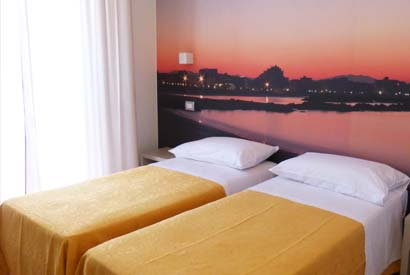 Deluxe room with sunset card in Cattolica